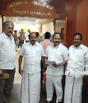 MLA's gave petition to district collector