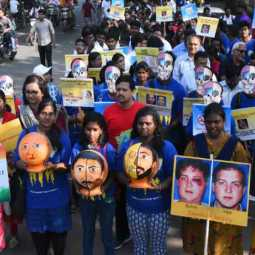 Awareness rally organized by Indian Facial Surgeon Association