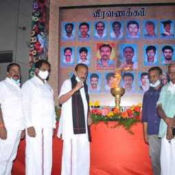 """No one has sacrificed as much as like us for the liberation of the seven"" - vaiko (pictures)"