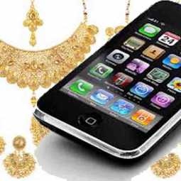 cell phone jewelry
