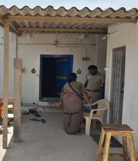 cuddalore district panruti judge house incident police investigation