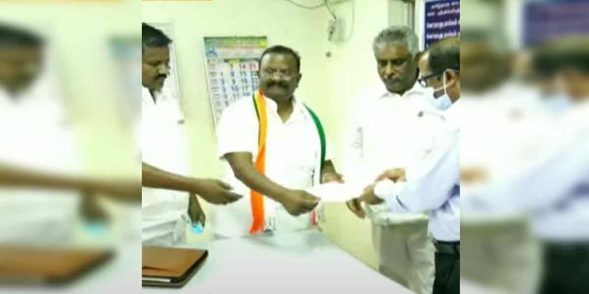 Srivilliputhur Congress candidate passed away
