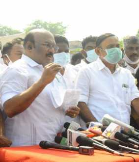 minister jayakumar press meet at chennai