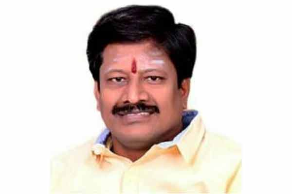 ADMK mla tested corona positive