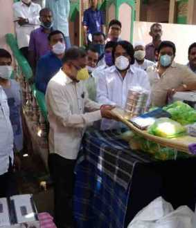 thiruvannamalai - corona virus issue - dmk - help -  sri dharan