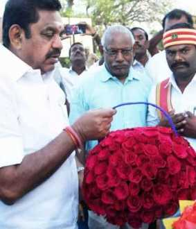 Panchayat held by Edappadi, chief minister in Trichy