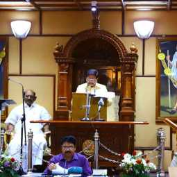 puducherry union budget 2019-20 session start yesterday governor kiranbedi speech