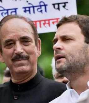 gulam nabi azad says congress losses its ground with people