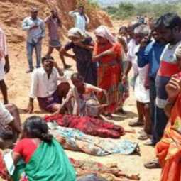 11 people lost their life in landslide happened in telangana