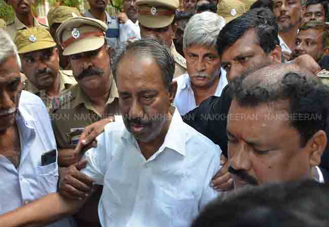 nellai kannan bail district court disposed