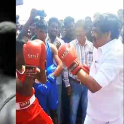 MGR on screen! KTR in real time! Boxing is a dream come true!