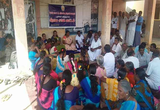republic day grama sabha meeting salem district peoples and officers