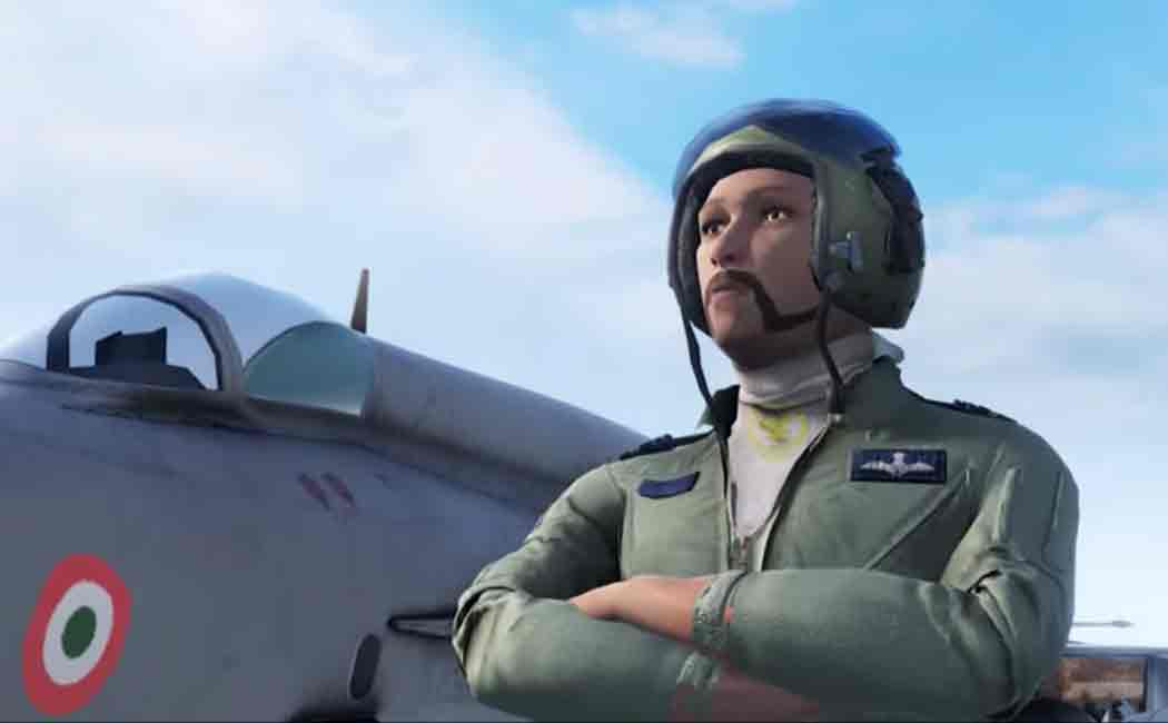 indian airforce released teaser for a video game
