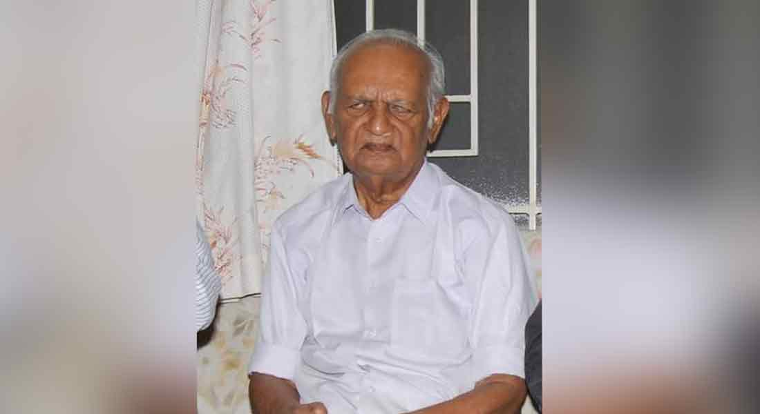 Coimbatore gnani passed away