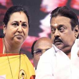 dmdk party vijayakanth, premalatha vijayakanth today discharged hospital