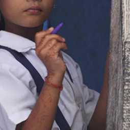 rajasthan school girls fight over pen