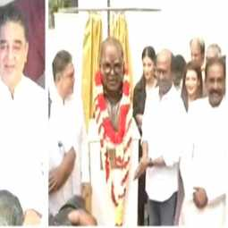 TAMIL FILM DIRECTOR BALACHANDER STATUE OPENING CEREMONY