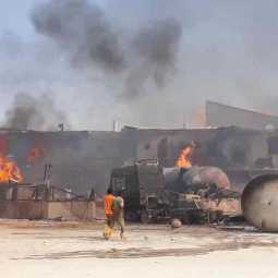 fire accident in sudan costs 23 lives