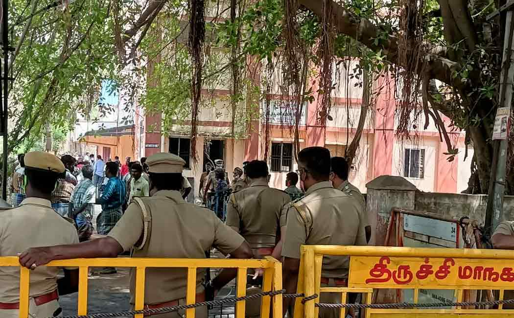 Trichy Union club demolish