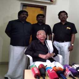 bjp one of the missied call party ki veeramani press meet