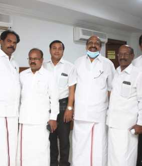 tn assembly election dmk and mdmk party leaders discussion