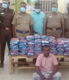 1 lakh worth of banned tobacco products confiscated in Vriddhachalam