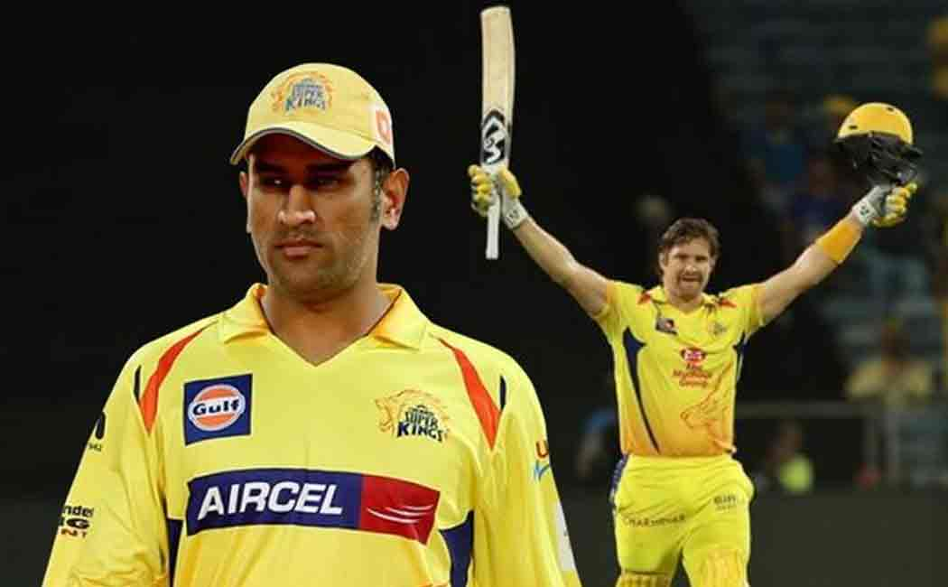 shane watson thanks dhoni and coach fleming for his performance in ipl match