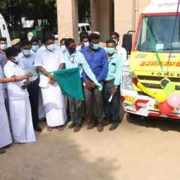10 more ambulances for Cuddalore! Vijayabaskar started!