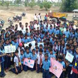 Schoolchildren who funded their dream project on Abdul Kalam's Memorial Day!