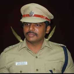 erode district police love suspend sp action