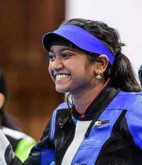 ilavenil valarivan won gold in issf world championship
