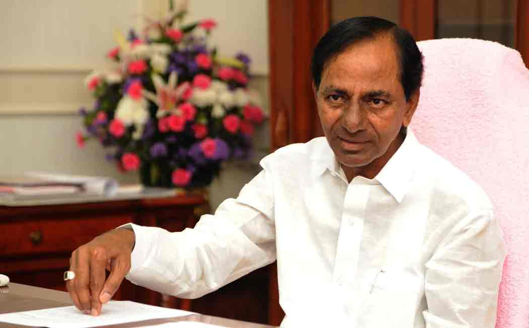 chandrasekar rao announces 10 lacks rupees for people in his native