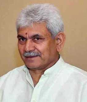 Manoj Sinha appointed Deputy Governor of Jammu and Kashmir