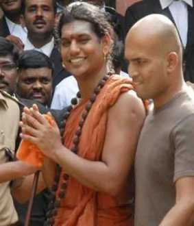 Nithyananda on the path of J