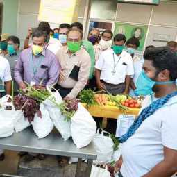 THENI DEPUTY CM INSPECTION FOODS