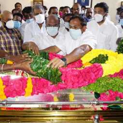 Ministers pay Tribute to B.S.Gnanadesikan