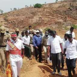The Minister who went on a trek for 1 hour to help