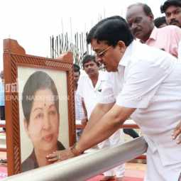 maithreyan in jayalalitha memorial