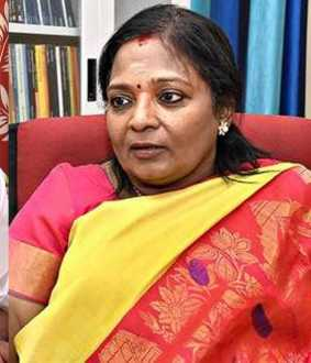 Tamilisai Soundararajan helps J.Anbazhagan