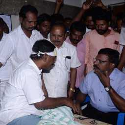 THANJAVUR VSK PARTY DISTRICT LEADER INCIDENT POLICE