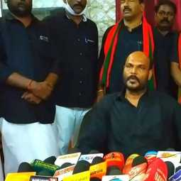 We are fighting from the AIADMK alliance; It is up to the chief to inform what is preventing; Johnpondian