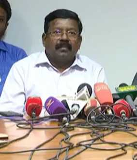 State election Commissioner Palanisamy press meet