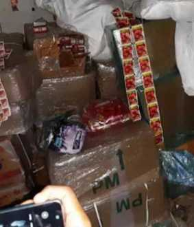 5 lakhs worth of tobacco products seized at Chidambaram