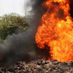 gas pipe line accident in nigeria
