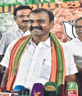 bjp murugan press meet