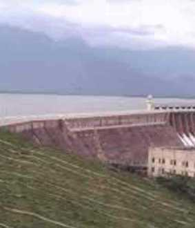 Water opening at Bhavani Sagar Dam ...