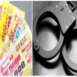 lottery seller arrested near Kanyakumari