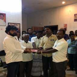 vellore lok sabha election dmk high votes dmk party leader gift