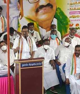 Congress leader K.S. azhagiri commented on tamilnadu CM edappadi palanisami and
