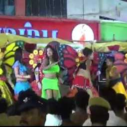nanguneri assembly by election minister karuppanan dance